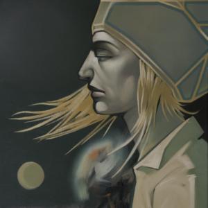 3.melancholy 54x73cm.oil.canvas