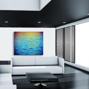 Evening Sea 2, 120x150 a