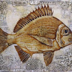Fish Antique 1, 80x95