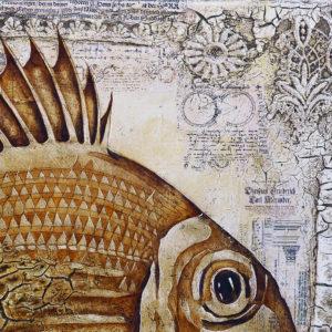Fish Antique 1, 80x95a