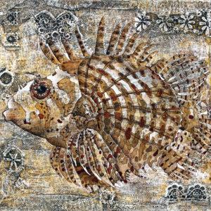 Fish, Composition 2, 80x90