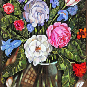 Flowers for Lempicka, 80x40