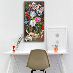 Flowers for Lempicka, 80x40 2