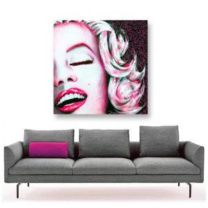 Marilyn POP, 120x120 2
