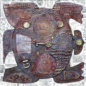 Schildkröte 2. 40x40