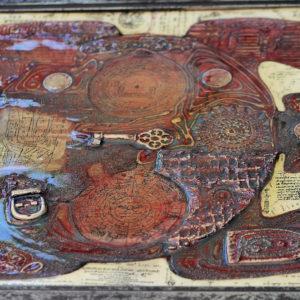Schildkröte 2. 40x40 a2