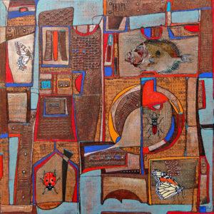 Series Objects, Konstruktion, 70x70