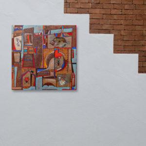 Series Objects, Konstruktion, 70x70b